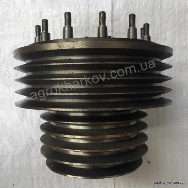 Шкив двигателя ЯМЗ-238АК (9-ти руч.) ДОН-1500