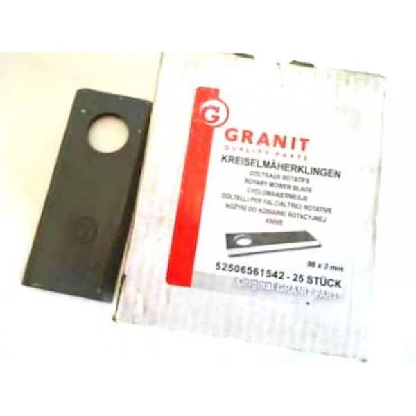 Нож роторной косилки GRANIT (Германия)