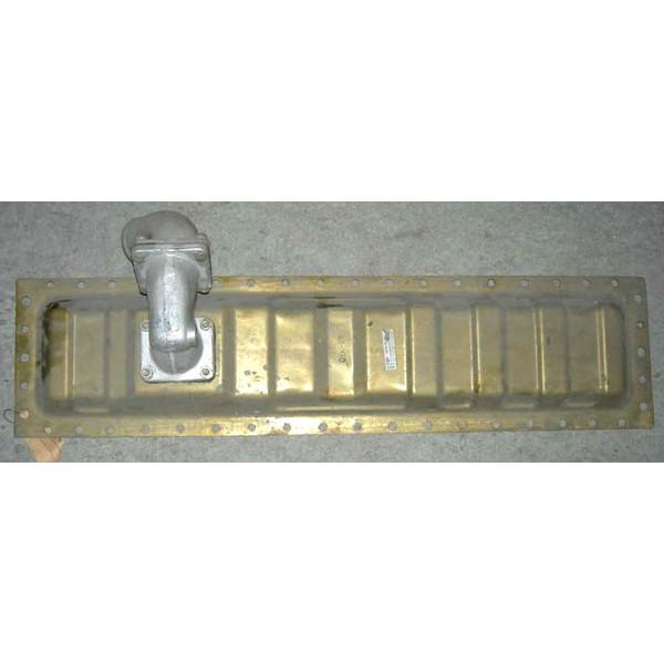 Бак радиатора Т-150 нижний