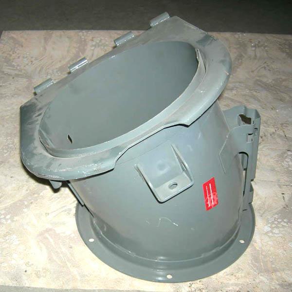 Патрубок выгрузного шнека НИВА СК-5
