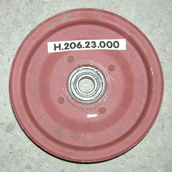 Шкив натяжной привода грохота с подшипн. НИВА СК-5