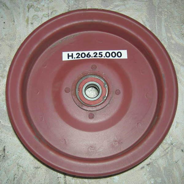 Шкив натяжной привода отбойного битера с подш. НИВА СК-5