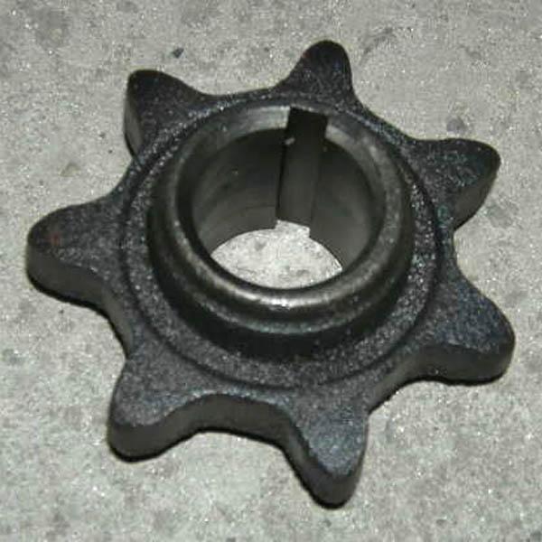 Звездочка z=7,t=38 зернового колосового шнеков ф35мм (ДОН-1500Б)