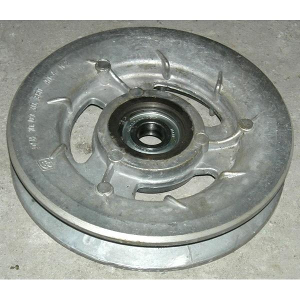 Шкив натяжной привода соломотряса (d=224 mm) (ал.)