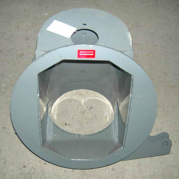 Горловина выгрузного шнека ДОН-1500